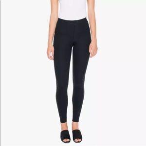 Skinny American apparel Ponte compact pants navy